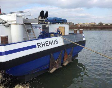 REPAREREN SCHADE rederij Rhenus schip Rhenus Dillingen