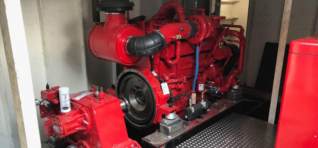 MDS Metamorfose Cummins QSK 19 scheepsmotoren 750 hp Graaf en Meeuwsen