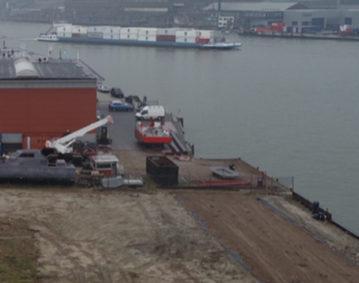 Rietbaan kade schepen groeneveldt marine service